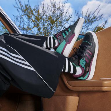 Originals Siyah Forum Exhibit Low Ayakkabı