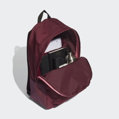 Lifestyle Red Classic Badge of Sport 3-Stripes Backpack