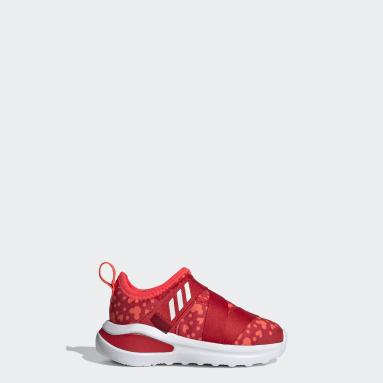Infant & Toddler Running Red FortaRun X Polka-Dot Shoes