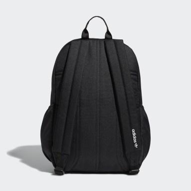Originals Black Trefoil Backpack