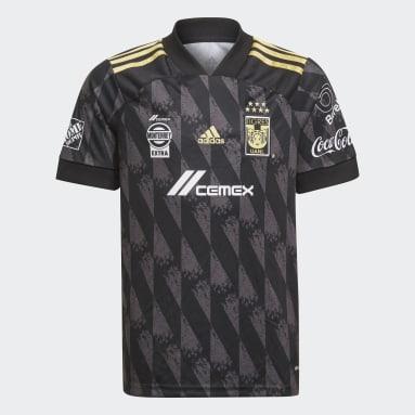 Jersey Tercer Uniforme Tigres UANL Negro Niño Fútbol