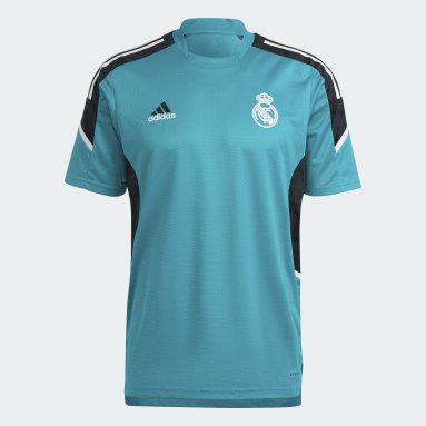 Men Football Green Real Madrid Condivo Training Jersey