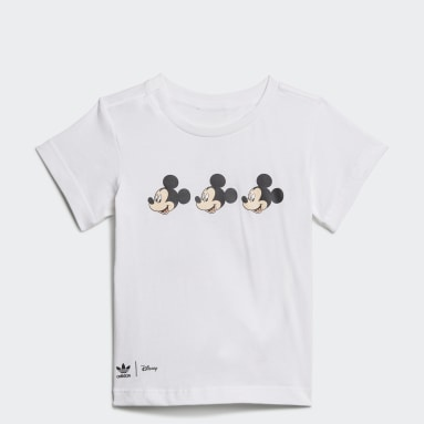 Disney Mickey and Friends T-skjorte Hvit
