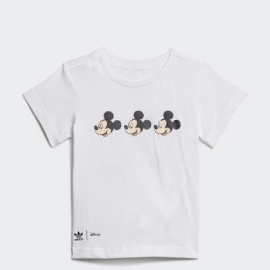 Polo Disney Mickey y Amigos Blanco Niño Originals