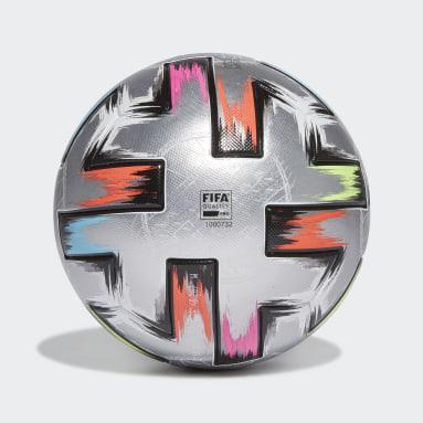 Balón Uniforia Finale Pro Plateado Fútbol
