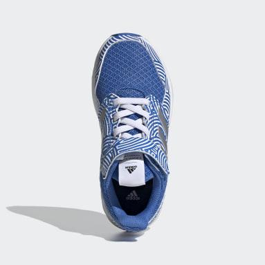 FortaFaito Tokyo Top Strap Shoes Niebieski