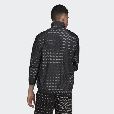 Track jacket Graphics Monogram Nero Uomo Originals