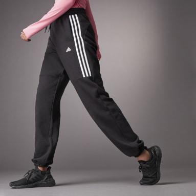 Calças Cintura Subida Hyperglam  Preto Mulher Sportswear