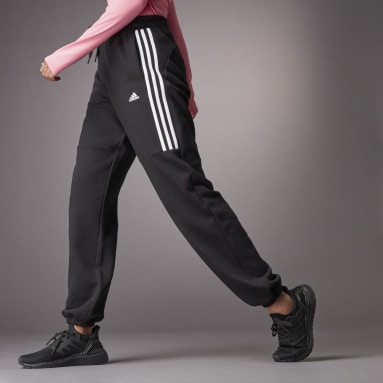 Women Sportswear Black Hyperglam High-Rise Joggers 