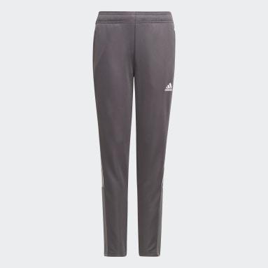 Pantalon de survêtement Tiro Gris Filles Football