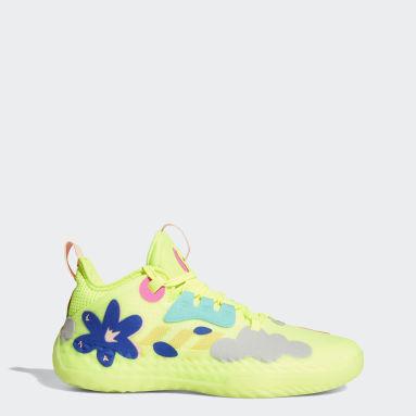 Chaussure Harden Vol. 5 Futurenatural jaune Basketball