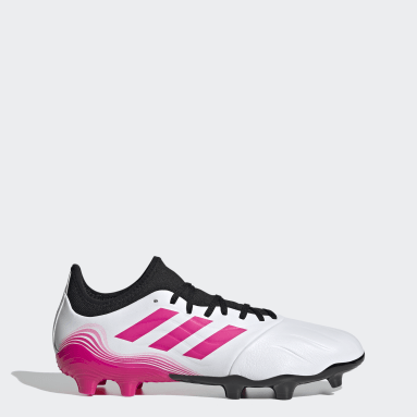 Soccer White Copa Sense.3 Firm Ground Cleats
