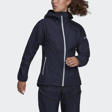 Frauen TERREX Agravic 3L Jacke Blau