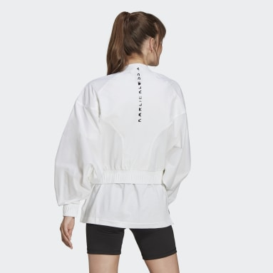 Chaqueta Cover-Up Karlie Kloss Blanco Mujer Running