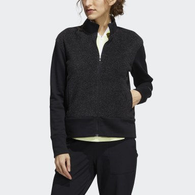 Giacca Equipment Recycled Polyester Full-Zip Nero Donna Golf