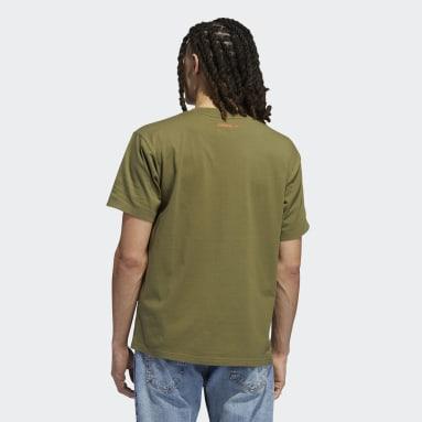 T-shirt Originals Smile Verde Uomo Originals
