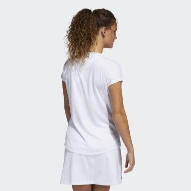 Women Golf Green Colorblock Primeblue HEAT.RDY Polo Shirt
