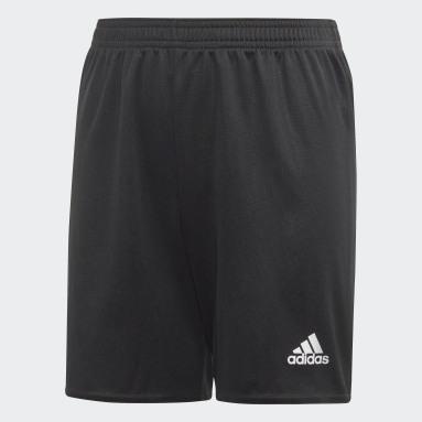 Boys Football Black Estro 19 Shorts