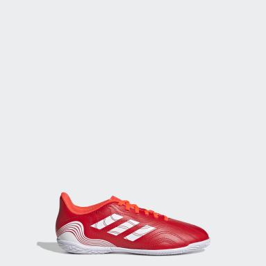 Children Soccer Red Copa Sense.4 Indoor Shoes