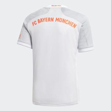 Barn Fotboll Grå FC Bayern 20/21 Away Jersey