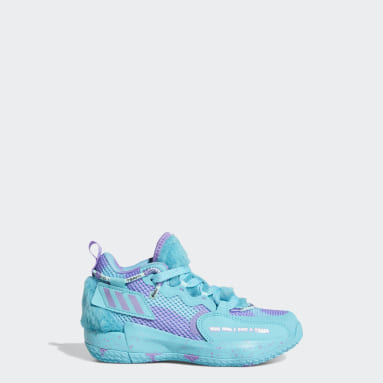 Children Basketball Turquoise Dame 7 EXTPLY Sulley Shoes