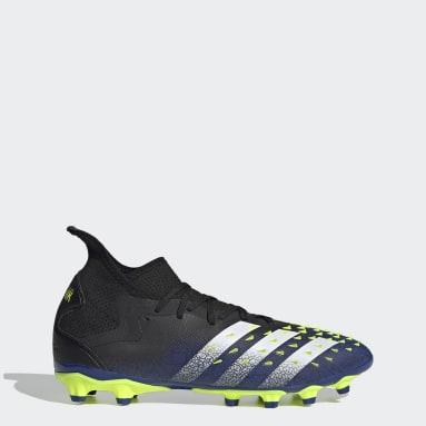 Men's Soccer Black Predator Freak.2 Multi-Ground Cleats