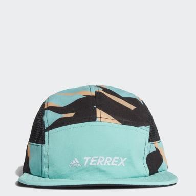 Casquette Terrex Primegreen AEROREADY Graphic Five-Panel Vert TERREX
