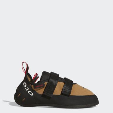 Five Ten Brown Five Ten Anasazi Hook and Loop Climbing Shoes