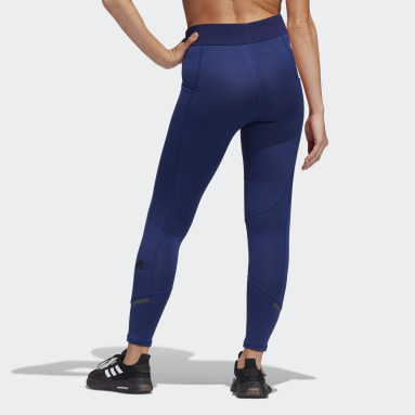 Women's Training Blue Techfit COLD.RDY Long Tights