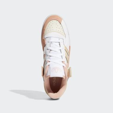 Originals Forum Exhibit Low Schuh Weiß