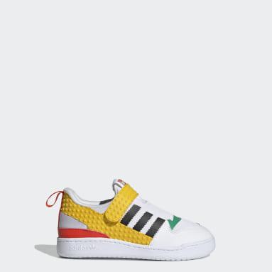 Kids 4-8 Years Originals White adidas Forum 360 x LEGO® Shoes