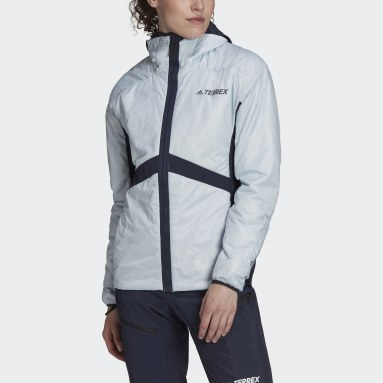 Frauen TERREX TERREX Skyclimb Gore Hybrid Insulation Skitourenjacke Blau