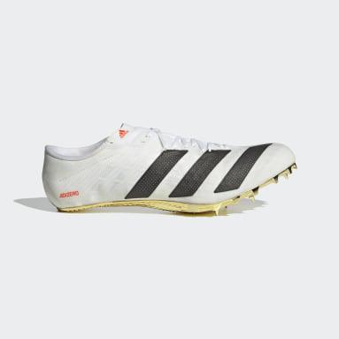 Leichtathletik Adizero Prime Sprint Tokyo Spike-Schuh Weiß