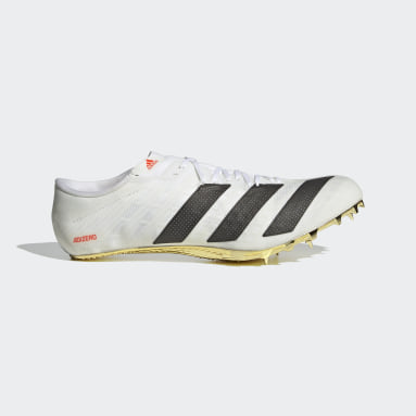 Sapatos de Bicos Adizero Prime Sprint Tokyo Branco Atletismo