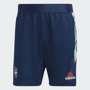 Men Football Blue Arsenal Condivo Training Shorts