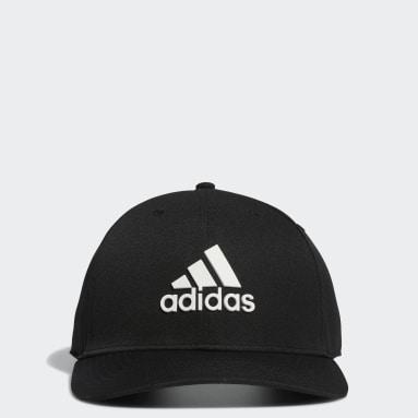 Men Golf Black Tour Snapback Cap