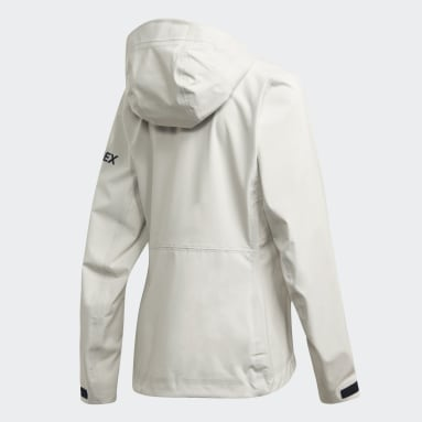 Kvinder TERREX Hvid DSV Parley Three-Layer jakke