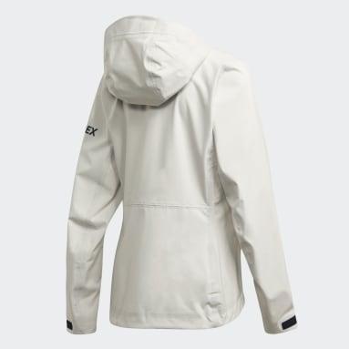 Veste DSV Parley Three-Layer Blanc Femmes TERREX