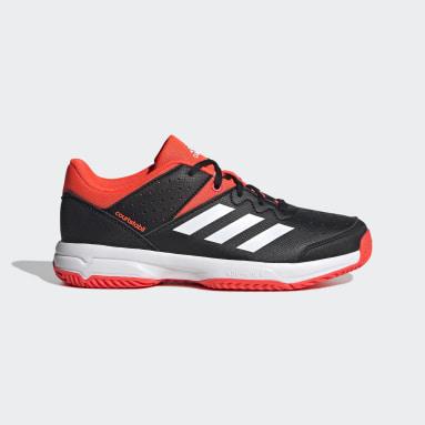 Kids Gym & Training Black Court Stabil Shoes