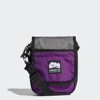Bolso pequeño adidas Adventure Flap Negro Originals