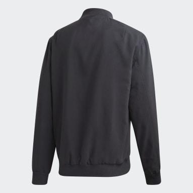 Men Football Grey Germany Seasonal Special Jacket