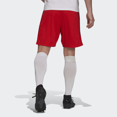 Men Football Red Olympique Lyonnais 21/22 Away Shorts