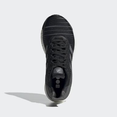 ผู้หญิง วิ่ง สีดำ รองเท้า Solar Glide 19