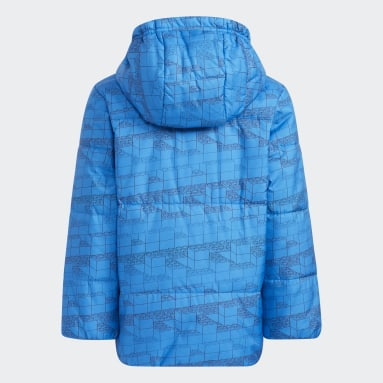 Barn Gym & Träning Blå adidas x Classic LEGO® Jacket