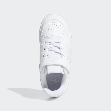 Kinder Originals Forum Low Schuh Weiß