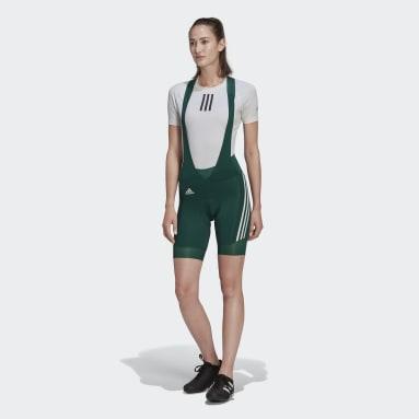 Dames Wielrennen Groen The Padded Cycling Bib Short