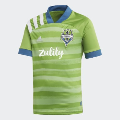 Youth Soccer Green Seattle Sounders FC Home Jersey