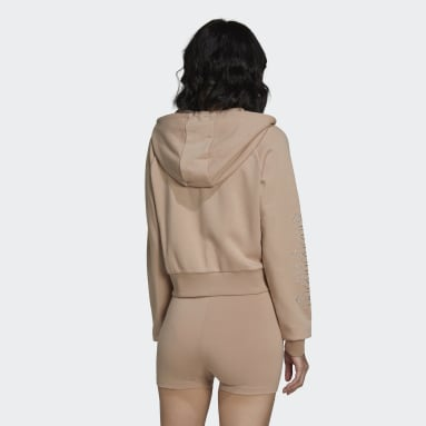adidas 2000 Luxe Cropped Treningsoverdel Beige