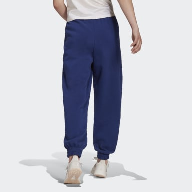 Women's Essentials Blue Essentials Warm Golden Logo Pants