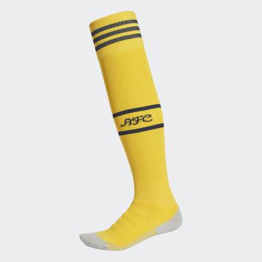 Medias segunda equipación Arsenal Amarillo Fútbol